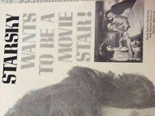 m9-9m ephemera 1970/s film article paul michael glaser starsky and hutch