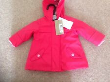MARKS AND SPENCER BABY GIRLS PINK RAINCOAT AGE 3-6 MONTHS BNWT