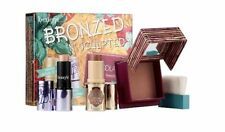 BNIB Benefit Bronzed & Sculpted Kit Hoola Powder Bronzer Quickie Stick & Watt's