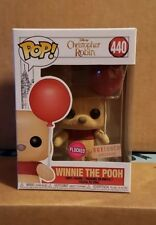 Funko POP! Disney Christopher Robin Winnie the Pooh #440 Flocked w/Protector