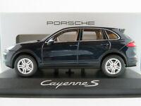 Minichamps/Porsche WAP0200060E Porsche Cayenne S in moonlightblue 1:43 NEU/OVP