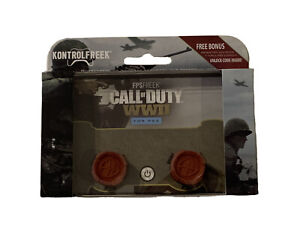 KontrolFreek Call of Duty WWII Thumbsticks PS4 PS5 Red New WW2 COD PlayStation
