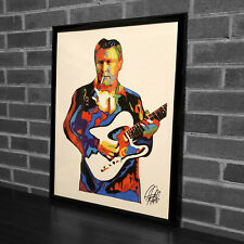 Danny Gatton Guitar Rockabilly Jazz Country Music Poster Print Wall Art 18x24