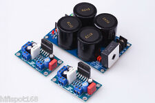 LM3886 Amp Board+rectify filter LM3886TF KIT Amplifier DIY 2CHANNELS UNASSEMBLED
