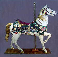 """Full Size Carousel Horse Ilions Stander 62"""" FREE SHIP!"""