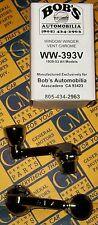BUICK  (2) DOOR VENT WINDOW  HANDLES  1939 thru 1953 + Our Buick Parts Catalog