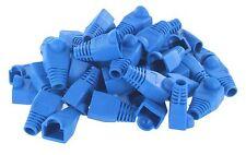 50 pcs Blue CAT5E CAT6 RJ45 Ethernet Network Cable Strain Relief Boots(A-207BLU)