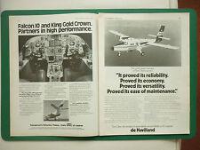 11/76 PUB DE HAVILLAND TWIN OTTER MNA MERPATI NUSANTARA AIRLINES / FALCON 10 AD