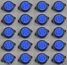 20x 7 LEDs 12V Side Marker BLUE Lights Car SUV Camper 4x4 Pickup Caravan Van
