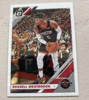 2019-20 Donruss Optic Holo Russell Westbrook Houston Rockets