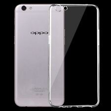 Clear TPU Gel Jelly Case Cover For Oppo R9s Free Screen Protector