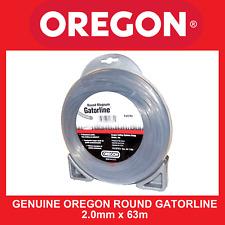 Trimmer line Genuine Oregon Round Gatorline - 2.0mm X 63m FREE SHIPPING