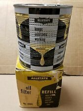 Vintage Allstate cartridge - drop in oil filter #4594