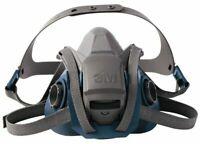 3M 6501QL Quick Latch Rugged Comfort Half Facepiece Reusable Respirator SMALL