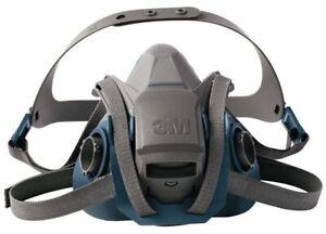 3M 6503QL Quick Latch Rugged Comfort Half Facepiece Reusable Respirator LARGE