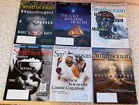 Lot 6 Smithsonian Magazine July, 2020 - January, 2021 Six Issues
