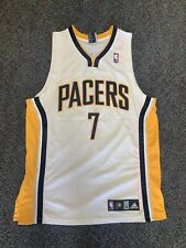 Indiana Pacers Adidas Authentic Jermaine oneal Size 44 Retro Vintage Vtg Jersey