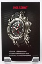 Oakley Holeshot Watch 6-Hand POP Card Honed with Black Dial