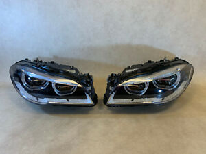 BMW 5 F10 F11 LCI M5 F10 GENUINE Headlight Adaptive FULL LED SET LH RH + Ballast