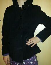 Zara Mädchenmantel Gr.140 , schwarzer Mantel , Jacke zum Knöpfen