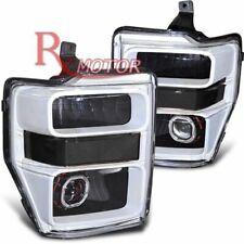 Fit 08-10 F250/F350/F450 Off-Road Custom Retrofit Projector Headlights w/HID Kit