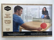 Table Tennis Set- Removable Table Tennis- Tabletop- Brand New