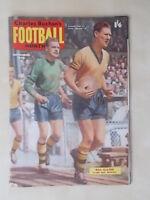 FOOTBALL MONTHLY MAGAZINE SEPTEMBER 1960 - WOLVES - BURNLEY