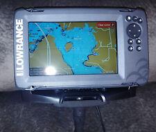 Lowrance Hook2-7 TripleShot Transducer and Us Inland Maps Fishfinder