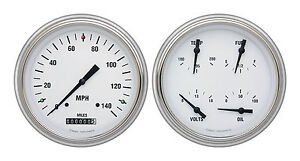 classic instruments 51-52 chevy car gauges ch51wh52 speedo with quad vintage