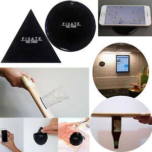 Fixate Stand Mat Slip Car Anti-Sticky Pad Nano Rubber Gel Sticker Phone Holder