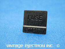NEW DYNACO Fuse Holder Cap ONLY - Black (ST400/ST416/MK VI): P/N 348007