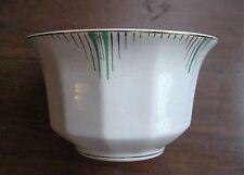 Thomas Hughes & Son Longport Art Deco Sugar Bowl Vintage 1940s-50s Hand Painted