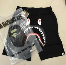 Unisex Shorts Japan Bape Shark Jaw Icon Pattern A bathing ape Pants Black Size/
