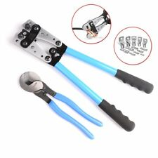 IWISS Cable Lug Crimping Tools Hand Electrician Pliers for Crimping Wire Cable