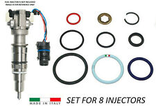 For Ford 6.0L Powerstroke Diesel Fuel Injector O-ring Kit (includes 8 kits)