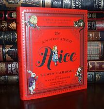 The Annotated Alice by Lewis Carroll 150th Anniversary Deluxe Hardback Gift Ed.