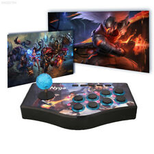 B9F6 Wired Arcade Street Joystick Gamepad Fighting USB Game Controller For PS2