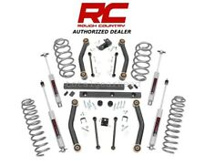 "2003-2006 Jeep TJ Wrangler 4WD 4"" Rough Country Suspension Lift Kit w/N3 [90730]"