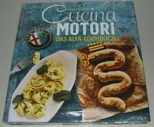 Das Alfa Romeo Kochbuch Cucina Motori Thomas Albrecht Heel Koch Buch Neu!