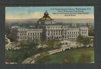 1913 US CONGRESSIONAL LIBRARY WEST ON FIRST ST ++ WASHINGTON DC POSTCARD