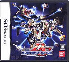 Used Nintendo DS SD Gundam G Generation DS Japan Import (Free Shipping)