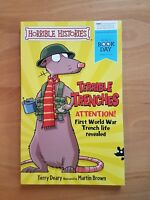 Terrible Trenches by Terry Deary (Paperback, 2014) BOOK