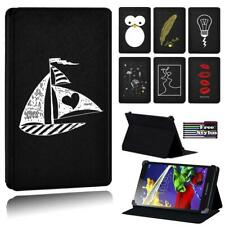 """Printed simple Leather Stand Folio Cover Case For Lenovo Tab 2 3 4 7.0"""" 8.0"""" 10"""""""