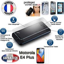 Protection d'Ecran en Verre Trempé Contre les Chocs pour Motorola Moto E4 Plus +