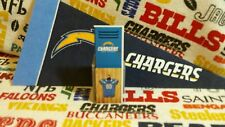NFL Teenymates 2015 Series 4 San Diego/LA Chargers Locker+Sticker Sheet Set/1ea