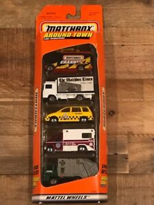 Matchbox Around Town 5 Pack Gift Set #34386-Collectible - NIB - Sealed