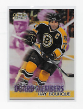 RAY BOURQUE 1998-99 OPC CHROME #B4 BOARD MEMBERS 'REFRACTOR' RARE BRUINS BV=$25