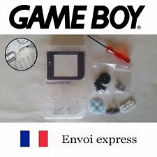 Coque GAME BOY fat original transparent clear NEUF + triwing - étui shell case