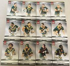 2012 ESP NRL LEGEND SERIES AUSTRALIAN KANGAROOS COMMON SET