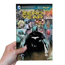 New DC Comics Zero Year Batman Superman Catwoman The Flash Hardback Official